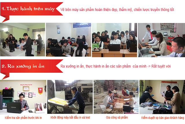 Học Photoshop ở Tân Phú. Học thực hành thực tế cùng các chuyên gia