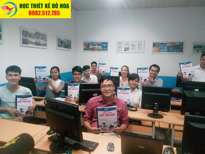 Học Photoshop tại Phú Thạch Tân Phú thỏa sức sáng tạo